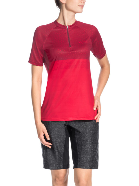 VAUDE Ligure Shirt Women red cluster